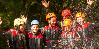 Full-day Rio Nero Canyoning Adventure near Lake Garda