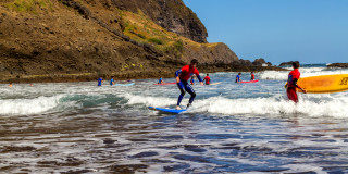 Half-day Surfing Lesson in Madeira