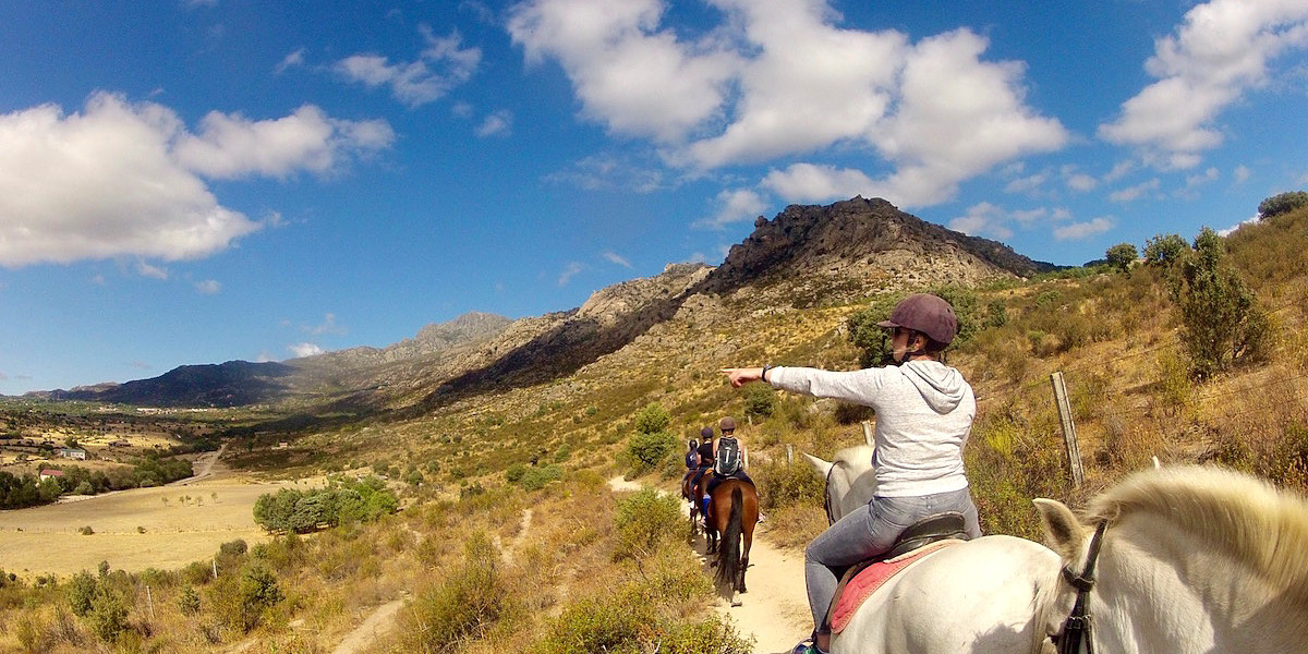 Horse-riding Adventure Through Madrid's Mountains